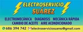Workshops and dealers Fuente Alamo : Electroservicio Suárez