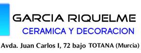 Infantile pavements Puerto Lumbreras : García Riquelme, Cerámica y Decoración