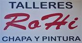 Talleres y concesionarios Fuente Álamo : Talleres Rohi - Chapa y Pintura