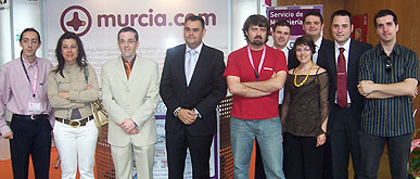 AUTORIDADES MUNICIPALES ASISTEN A LA INAUGURACIÓN DE LA OCTAVA EDICIÓN DEL FORO ANUAL DE LA SOCIEDAD DE LA INFORMACIÓN REGIÓN DE MURCIA (SICARM) 2008