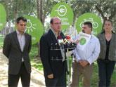 El Alcalde de Puerto Lumbreras y el Director General de Energías Limpias y Cambio Climático presentan 150 medidas que forman el Plan Estratégico contra el cambio climático de Puerto Lumbreras 2008-2012.