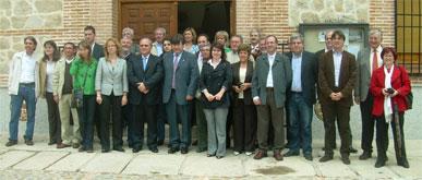 LA CONCEJAL DE ARTESANÍA PARTICIPA EN LA PRIMERA ASAMBLEA DE LA ASOCIACIÓN ESPAÑOLA DE CIUDADES DE LA CERÁMICA, QUE SE CELEBRÓ EN LA LOCALIDAD TOLEDANA DE PUENTE DEL ARZOBISPO