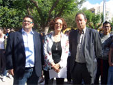"""Autoridades municipales asisten a la clausura del programa """"Expo Prado´08. Encuentro entre Culturas"""" en el IES """"Prado Mayor"""""""