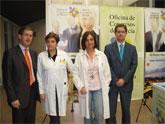 La Oficina de Congresos se reúne con directivos del hospital Morales Meseguer