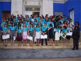 """Cerca de 70 de alumnos del I.E.S. """"Juan de la Cierva"""" reciben sus becas y diplomas en una ceremonia de graduación celebrada en el Centro Sociocultural """"La Cárcel"""""""