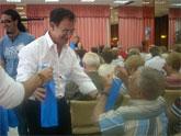 Bascuñana visitó en La Manga a 190 participantes en el Programa Turismo Senior