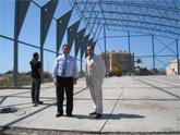 Nueva pista polideportiva de San Javier entrará en funcionamiento tras el verano