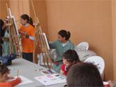Archena se convirtió durante todo el sábado en capital de la pintura regional