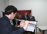 Más de 600 alumnos podrán cursar enseñanzas artísticas en el nuevo Conservatorio Profesional 'Maestro Jaime López' de Molina