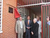 El Alcalde inaugura la ampliación del Centro de Infantil y Primaria Juan XXIII, en El Ranero