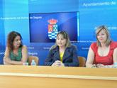 El Ayuntamiento de Molina de Segura y el Instituto de la Juventud de la Región de Murcia ponen en marcha un campo de trabajo en el Parque Ecológico Vicente Blanes