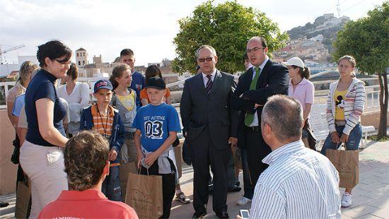 Alumnos y monitores polacos visitan Puerto Lumbreras a través de un programa de reconocimiento a la trayectoria escolar - 1, Foto 1