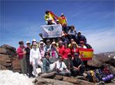 La Asociación Lumbrerense 'Andaya' realiza una ruta de senderismo por la alpujarra granadina
