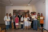 """El Director General de Programas de Inclusión y el alcalde de Puerto Lumbreras entregan los diplomas a los alumnos del curso de Habilidades Sociales del proyecto """"Trampolín"""""""