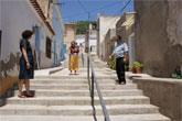 Se ejecuta la nueva fase de las obras de mejora de la accesibilidad al Casco Antiguo