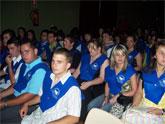 """Más de 80 alumnos del I.E.S. prado mayor reciben sus becas y diplomas en una ceremonia de graduación celebrada en el Centro Sociocultural """"La Cárcel"""""""