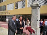 El Alcalde y el Delegado del Gobierno recuperan el histórico monolito que conmemoró la apertura del Camino Real de Castilla