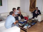 El alcalde se reúne con los representantes de CC.OO.