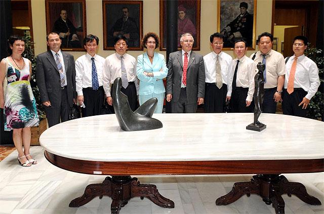 Delegación de la Universidad china de Hunam visita la Universidad de Murcia - 1, Foto 1