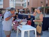 Chocolate con churros en las Fiestas del Centro Municipal de las Personas Mayores