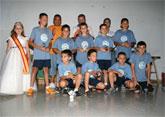 La Escuela de Fútbol Nueva Cartagena despide la temporada con una gran fiesta