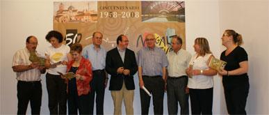 El Alcalde de Puerto Lumbreras, el Cronista Oficial y el hijo del primer Alcalde presentan las actividades culturales del Cincuentenario para el verano