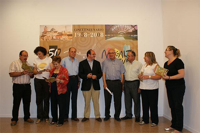 El Alcalde de Puerto Lumbreras, el Cronista Oficial y el hijo del primer Alcalde presentan las actividades culturales del Cincuentenario para el verano - 1, Foto 1