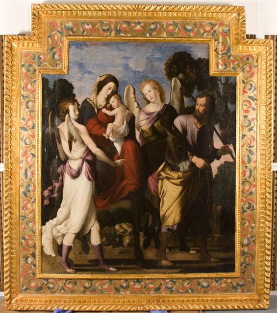El director general de Bellas Artes y Bienes Culturales entrega a la Iglesia de Santo Domingo de Mula dos grandes óleos de Mateo Gilarte - 1, Foto 1