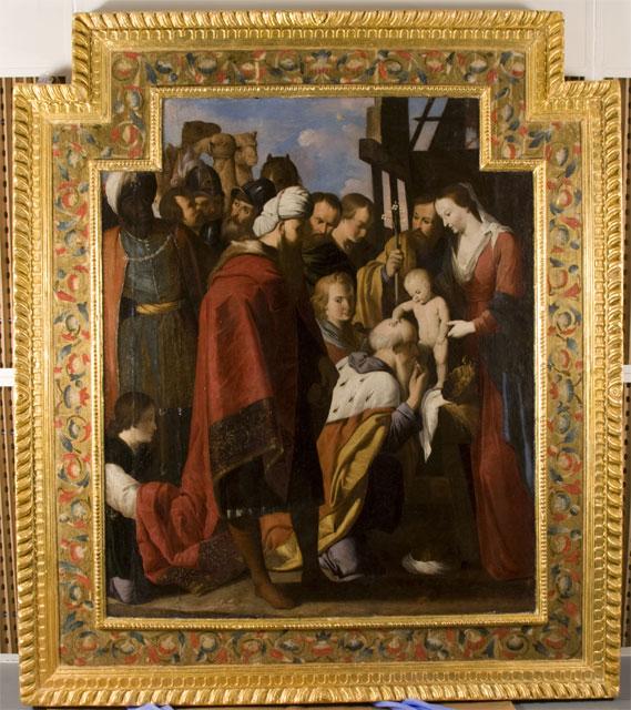 El director general de Bellas Artes y Bienes Culturales entrega a la Iglesia de Santo Domingo de Mula dos grandes óleos de Mateo Gilarte - 2, Foto 2