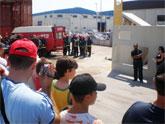 Unas 400 personas asisten a la jornada de puertas abiertas del Consorcio de Extinción de Incendios y Salvamento
