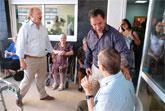 El consejero de Política Social visita el Centro de Estancias Diurnas