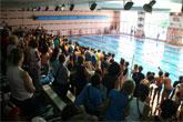 150 niños participaron en el Festival de Natación celebrado en el Complejo Deportivo Europa