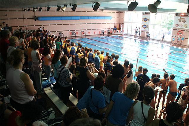 150 niños participaron en el Festival de Natación celebrado en el Complejo Deportivo Europa - 1, Foto 1