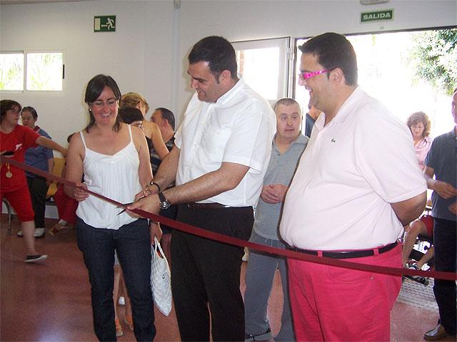 """Inauguran los nuevos vestuarios adaptados y el acondicionamiento de la nave taller actual del Centro Ocupacional """"José Moya"""" - 1, Foto 1"""
