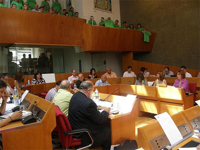 El Ayuntamiento de Lorca pide al Ejecutivo Central que no suba el precio de la luz y el agua - 1, Foto 1