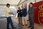Valcárcel entrega las llaves de 150 viviendas de protección pública a jóvenes en Molina