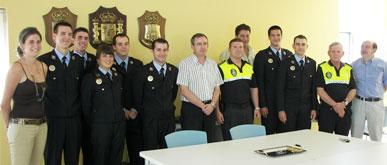 Toma de posesión de 7 nuevos agentes de Policía Local