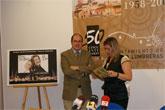 El alcalde de Puerto Lumbreras presenta el Acto Institucional conmemorativo del Cincuentenario.
