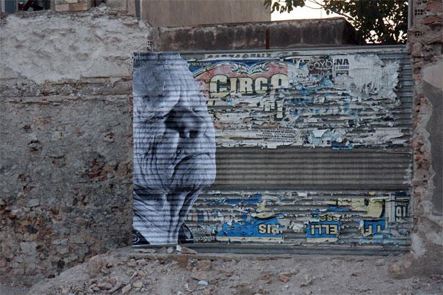 """La exposición de JR """"Los surcos de la ciudad"""" hasta el 29 de agosto por las calles de Cartagena - 5, Foto 5"""