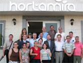 El consejero de Empleo recibe a una delegación del Gobierno albanés