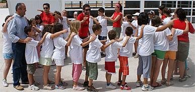 """36 jóvenes realizan un campamento de verano en el Albergue Juvenil """"Cabezo de la Jara"""""""