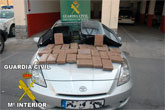 La Guardia Civil aborta la introducción de un importante cargamento de cocaína en la Región