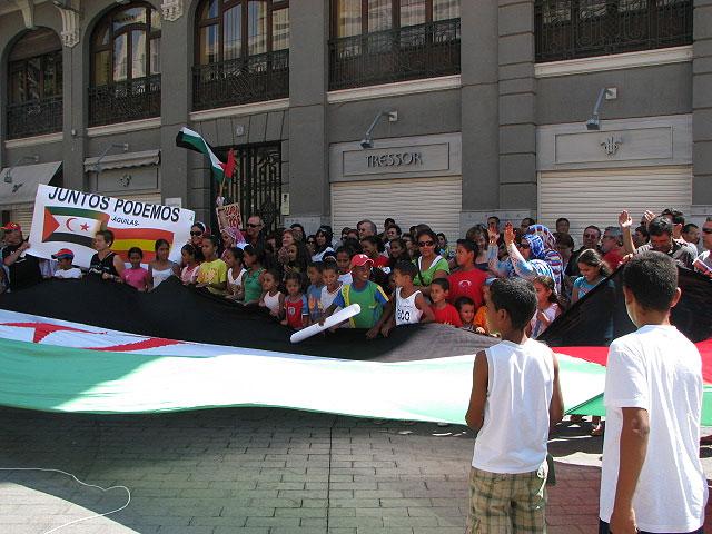 Concentración en favor del Sahara Occidental - 1, Foto 1