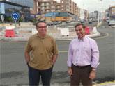 Las obras de desdoblamiento y adecuación al entorno urbano de Molina de Segura de la carretera A5 marchan a buen ritmo