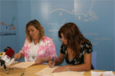 El Ayuntamiento y Riá Pitá firman un convenio de colaboración para la realización de actividades culturales