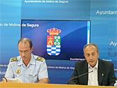 La plantilla de la Policía Local se incrementó en 21 agentes durante el año 2007, y con las nuevas incorporaciones se ha llegado a los 120 efectivos