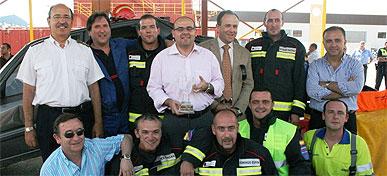 Mercader alaba la entrega a la sociedad y el afán de superación de los profesionales de 'Emergencias Región de Murcia'