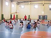 I Campus de baloncesto 'Javier Martín'