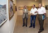"""Inaugurada la exposición """"Puerto Lumbreras en la Pintura Murciana"""""""