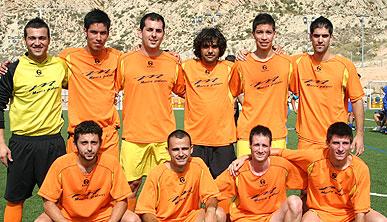 """El equipo """"Murcia Pintores"""" gana las 12 horas de Fútbol 7 en las que se registró un record de participantes con un total de 29 equipos y 320 futbolistas"""